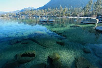 Photograph - Morning Glory At Sand Harbor by Sean Sarsfield
