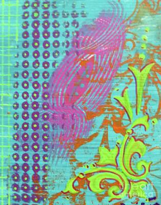 Mixed Media - Morning Glory by Desiree Paquette