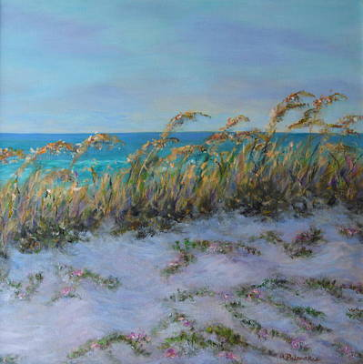 Painting - Morning Glory Dune Part 2 by Amber Palomares