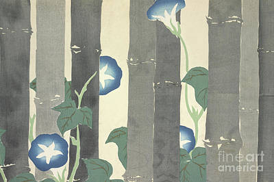Painting - Morning Glory by Kamisaka Sekka