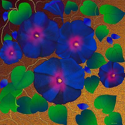 Digital Art - Morning Glory by Latha Gokuldas Panicker