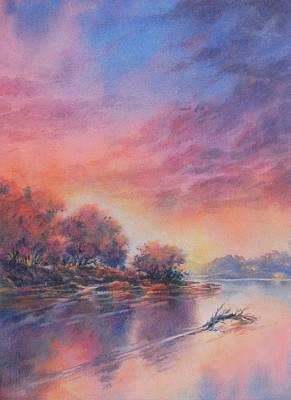 Morning Glory No 1 Original by Virgil Carter