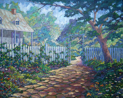 Walter Pranke Painting - Morning Glory by Richard T Pranke