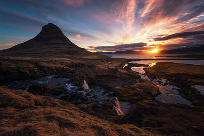 Colorful Photograph - Morning Glory by Tor-Ivar Naess