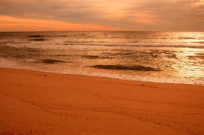 Photograph - Morning Glow - Jersey Shore by Angie Tirado
