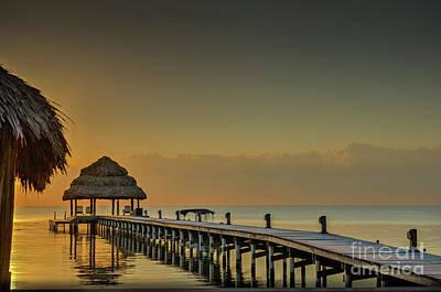 Photograph - Morning Glow At Sunrise by David Zanzinger