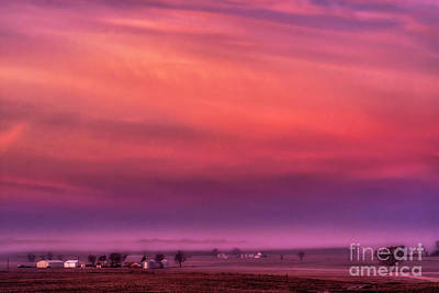 Photograph - Morning Glow In The Heartland by Thomas R Fletcher