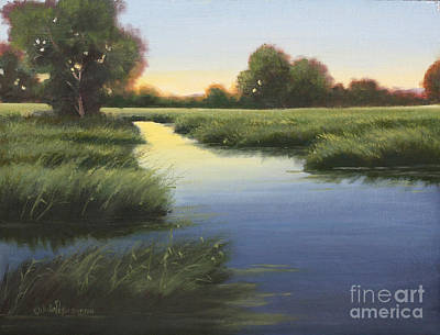 Morning Glow Original by Julie Peterson