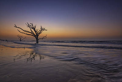 Morning Glow On Edisto Island Art Print by Rick Berk