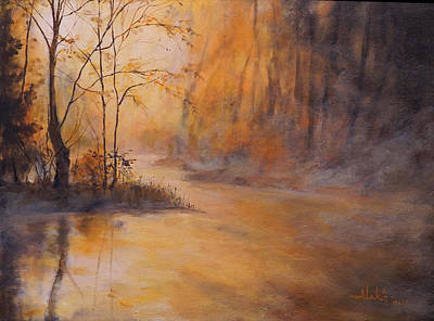 Painting - Morning Gold by Alan Lakin
