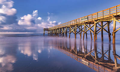 Photograph - Morning Gold - Isle Of Palms, Sc by Donnie Whitaker