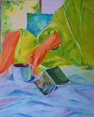 Morning Habit Art Print by Irit Bourla