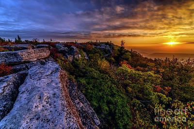 Photograph - Morning Has Broken Bear Rocks by Thomas R Fletcher