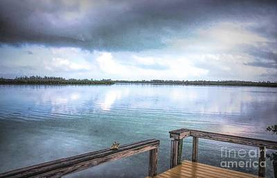 Photograph - Morning Has Broken In Green Turtle Cay by Polly Peacock