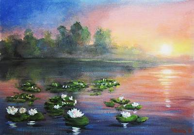 Painting -  Morning Impression by Vesna Martinjak