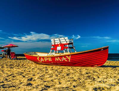 Truck Art - Morning in Cape May by Nick Zelinsky Jr