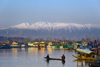 Morning In Kashmir Art Print