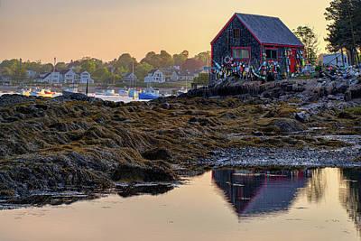 Photograph - Morning In Mackerel Cove by Rick Berk