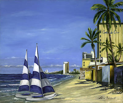 Painting - Morning In Mazatlan by Lisa Reinhardt