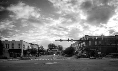 Murphy Photograph - Morning In Murphy North Carolina In Black And White by Greg Mimbs