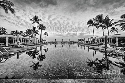 Photograph - Morning In Paradise - Bw by Scott Pellegrin