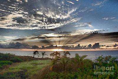 Photograph - Morning In Paradise by Melanie Pruitt