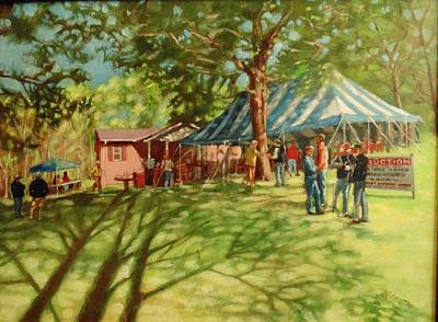 Painting - Morning In Ringgold by Janet McGrath