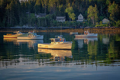 Saint George Photograph - Morning In Tenants Harbor by Rick Berk