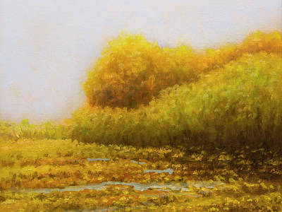 Painting - Morning In Texas - No 2 by Rob Blauser