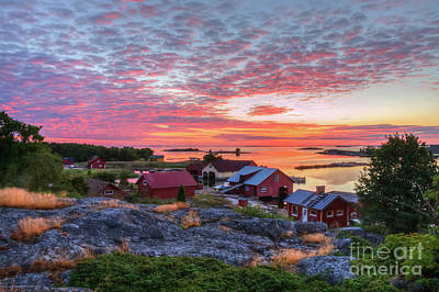 Morning In The Archipelago Sea Art Print by Veikko Suikkanen