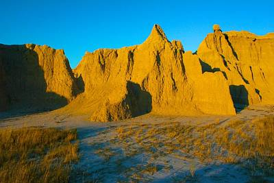 Photograph - Morning In The Badlands by Polly Castor