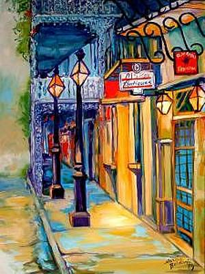 New Orleans Oil Painting - Morning In The French Quarter by Marcia Baldwin