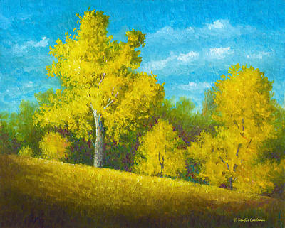 Painting - Morning In The Park Plein Air by Douglas Castleman