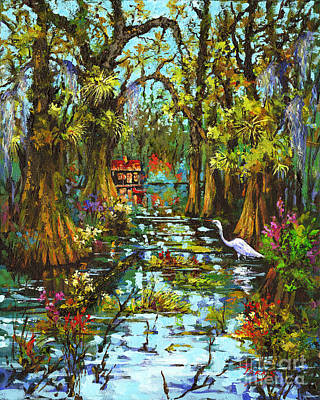 Painting - Morning In The Swamp by Dianne Parks