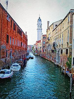 Photograph - Morning In Venice by Anne Sands