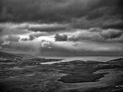 Photograph - Morning Ireland Bw #go by Leif Sohlman