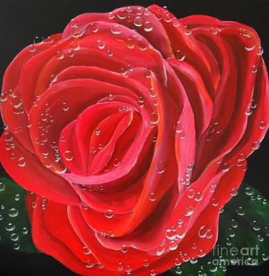 Painting - Morning Jewel by Karen Jane Jones