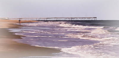 Photograph - Morning Jog On The Beach by Leslie Montgomery