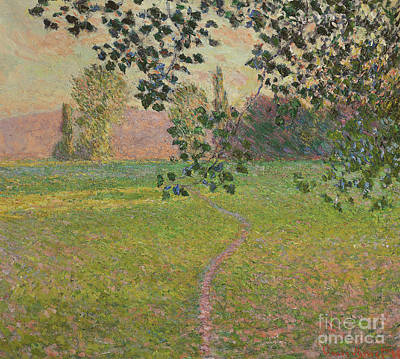 Painting - Morning Landscape, 1888 by Claude Monet