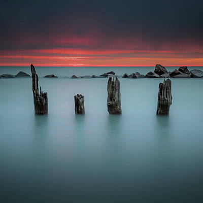 Photograph - Morning Layers by Josh Eral