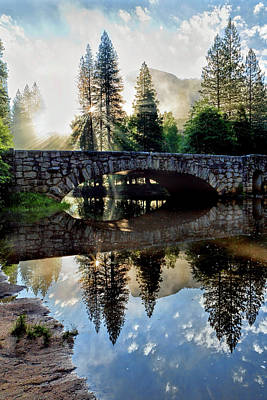 Photograph - Morning Light Along The Merced River by Patricia Sanders
