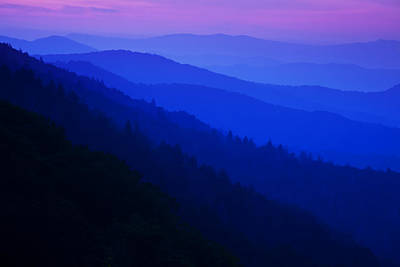 Smoky Mountains Photograph - Morning Light by Andrew Soundarajan