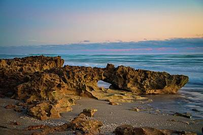 Photograph - Morning Light At Coral Cove Beach by Lynn Bauer