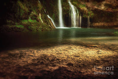 Photograph - Morning Light At Dripping Springs by Tamyra Ayles