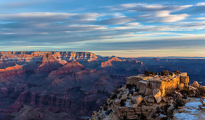 Photograph - Morning Light At Grand Canyon by Jonathan Nguyen