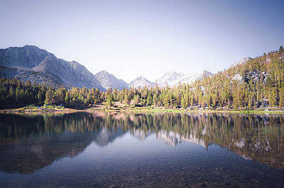 Morning Light At Heart Lake Art Print by Alexander Kunz