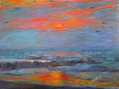 Painting - Pawleys Island Morning Light Stage One by Kendall Kessler