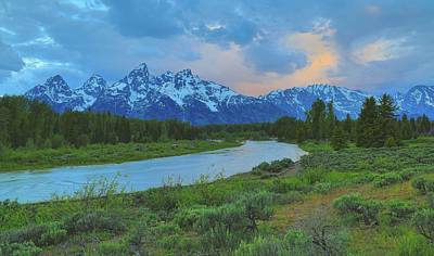 Photograph - Morning Light At Schwabachers Landing by Dan Sproul