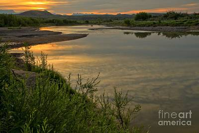 Photograph - Morning Light At The Rio Grande by Adam Jewell