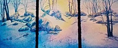 Painting - Morning Light by Carolyn Rosenberger